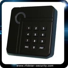 Small standalone RFID reader 13.56mhz nfc card RFID reader rfid reader access control for pin& card