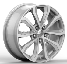 Factory price car wheels work 5X112 alloy wheel replica 17X8.0 wheel for sale