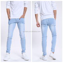 Good Reputation Denim Skinny Slim Crazy Braned Jeans for Men