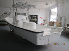 25ft Liya water taxi boat fiberglass tender boats petrol fishing boat for sale