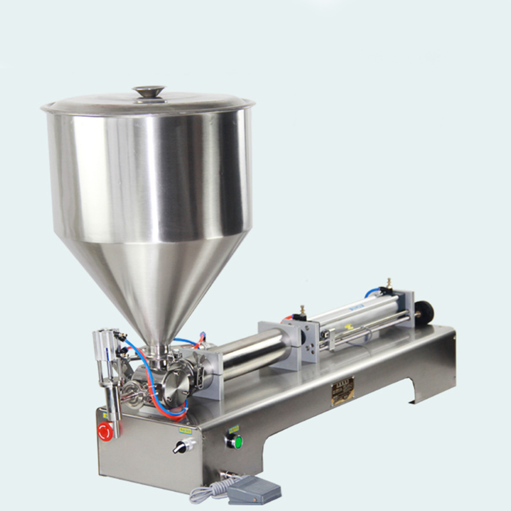 Small Manual Semi Automatic Liquid Cosmetic