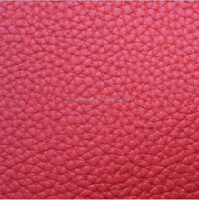 Excellent quality lichi grain synthetic pvc leather for shoes