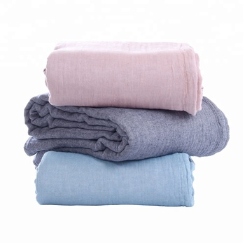 hot selling 100% cotton travel moving blanket from china factory