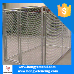Large Outdoor Galvanized Heavy-Duty Metal Fence Dog Kennels