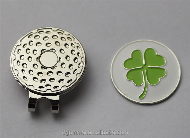 new golf products promotional hat clips with ball markers in most welcomed sale