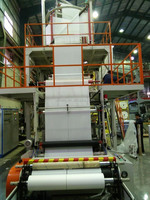 Three-layer Co-extrusion Blowing Film Machine with IBC system and Auto Roll Changer