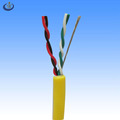 ul2464 4cores 22awg twisted pair al-foil and drain wire shielded cable