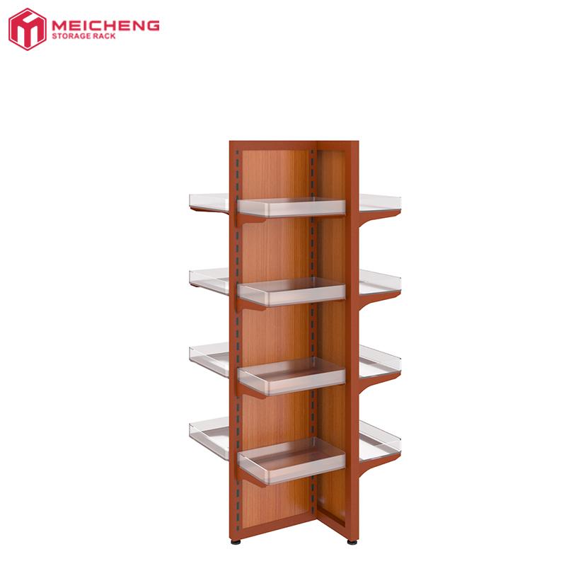 Case Holder Rack Antique Wooden Extending Book Shelf