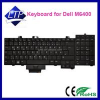 Brand new laptop keyboard For Dell Precision M6400 M6500 Backlit notebook Keyboard US Keyboard layout