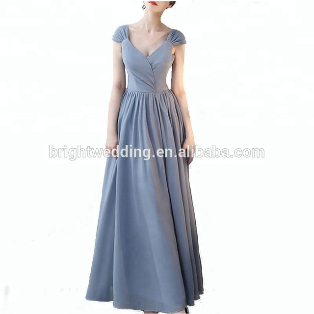 china cheap formal weddings bridesmaid dresses long chiffon