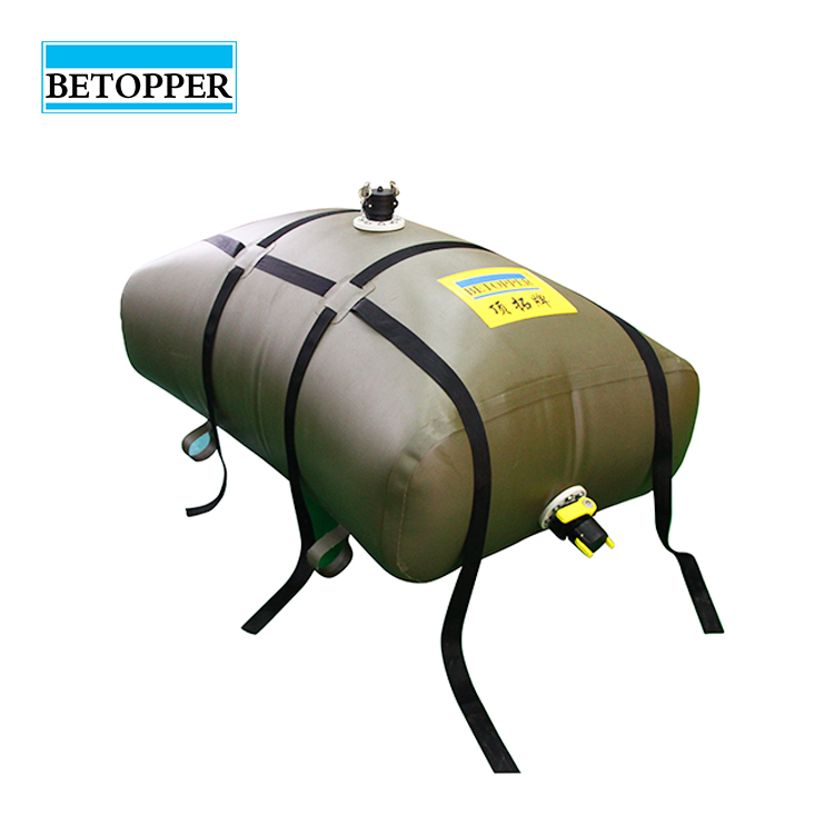 Hot sale foldable PVC water and oil storage tank bladder