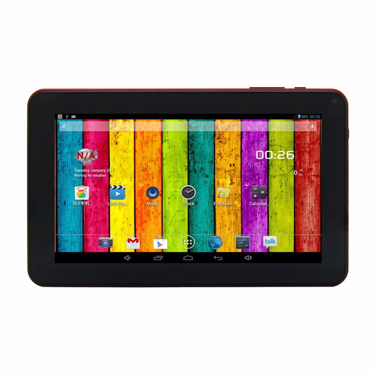 OEM 9 inch quad core wifi big battery android 4.4 super smart tablet pc