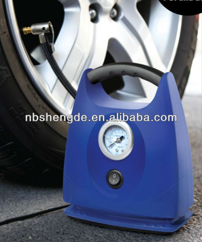 12V /250PSI portable car air compressor
