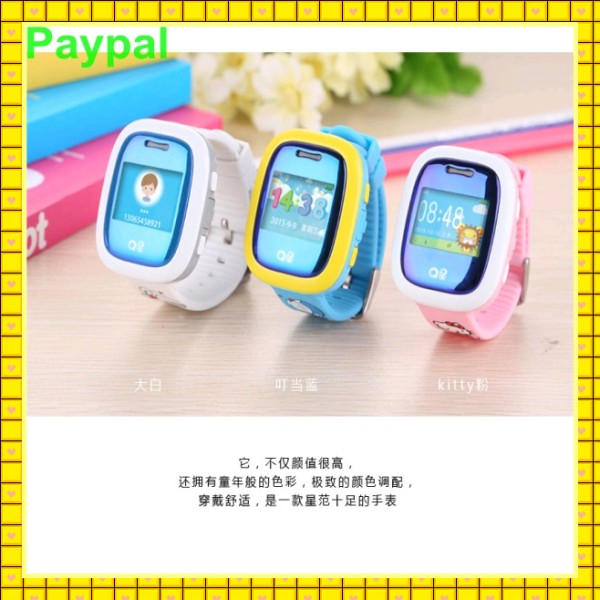 Factory wholesale GPS Tracker smart watch for kids with gps and phone