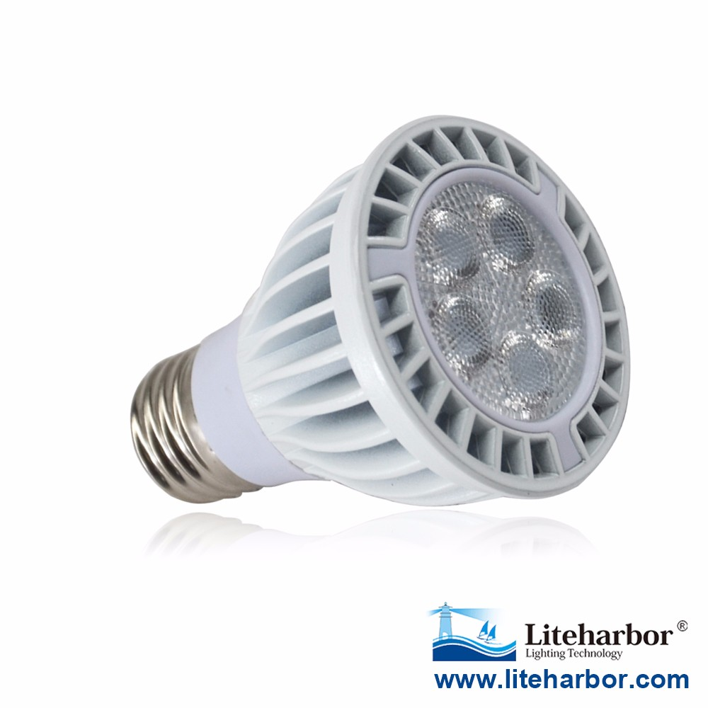 RoHS CE ETL UL E26 or E27 10W Dimmable Bulb PAR20 Spot Lights LED