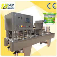 Factory Price Yogurt Filling Machine/Yogurt Cup Filling Machine/Yogurt Cup Filling Sealing Machine