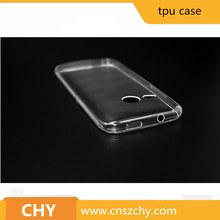 Best sales Transparent soft tpu mobile phone case for htc one m8 mini
