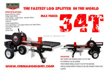 34T world fastest Hot Selling Automatic 34Ton Wood Log Splitter