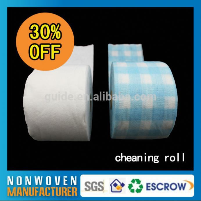 Recycled Disposable Wholesale roll for cleaning clothes