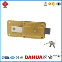 new design rim night latch lock with high quality