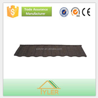 high quality colorful stone coated metal rofing tile/aspirant metal roofing