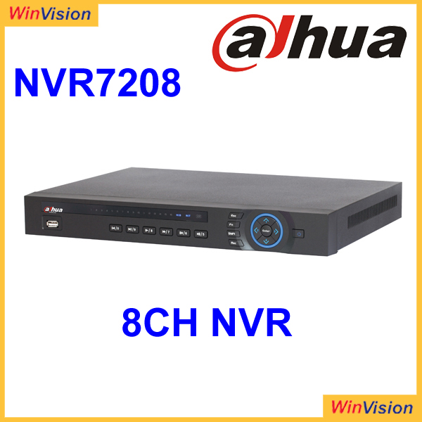 8CH Dahua CCTV NVR HDMI VGA output up to 1080P 1 TV Dahua Network Video Recorder NVR7208