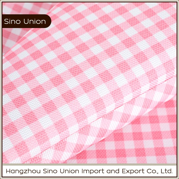 Wholesale high quality water resistant PVC coated 600 denier ripstop polyester fabric for bags