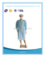 Hot sale Low price Factory medical disposable isolation gown