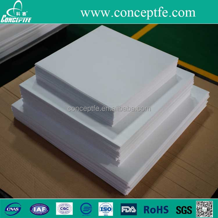 new material teflon skiving square sheet