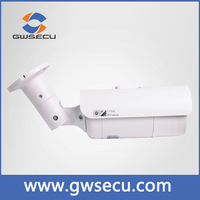 Strong mental housing outdoor bullet cctv ip camera with unique strcuture