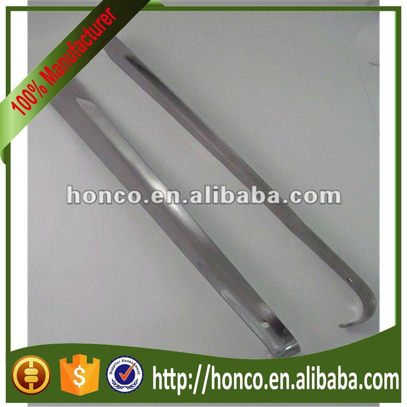 Long stainless steel metal shoe horn with low price