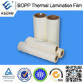 High qualitu Glossy laminating film thermal hotmelt precoating