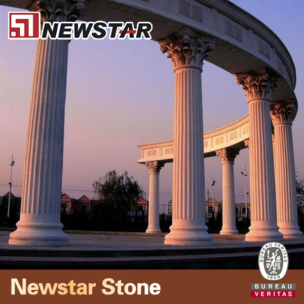Newstar natural stone column cover