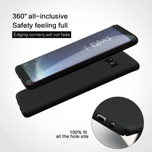 [Perfect Fit]Anti-Slip Matte Coating Thin Hard Protective Back cover for Samsung Galaxy S8