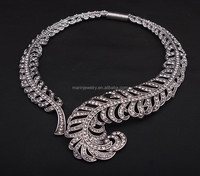 Wing Collar exaggerated Necklace Vintage female foreign trade dinner with accessories