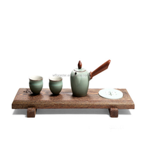 hot sale japanese style vintage wooden tea tray