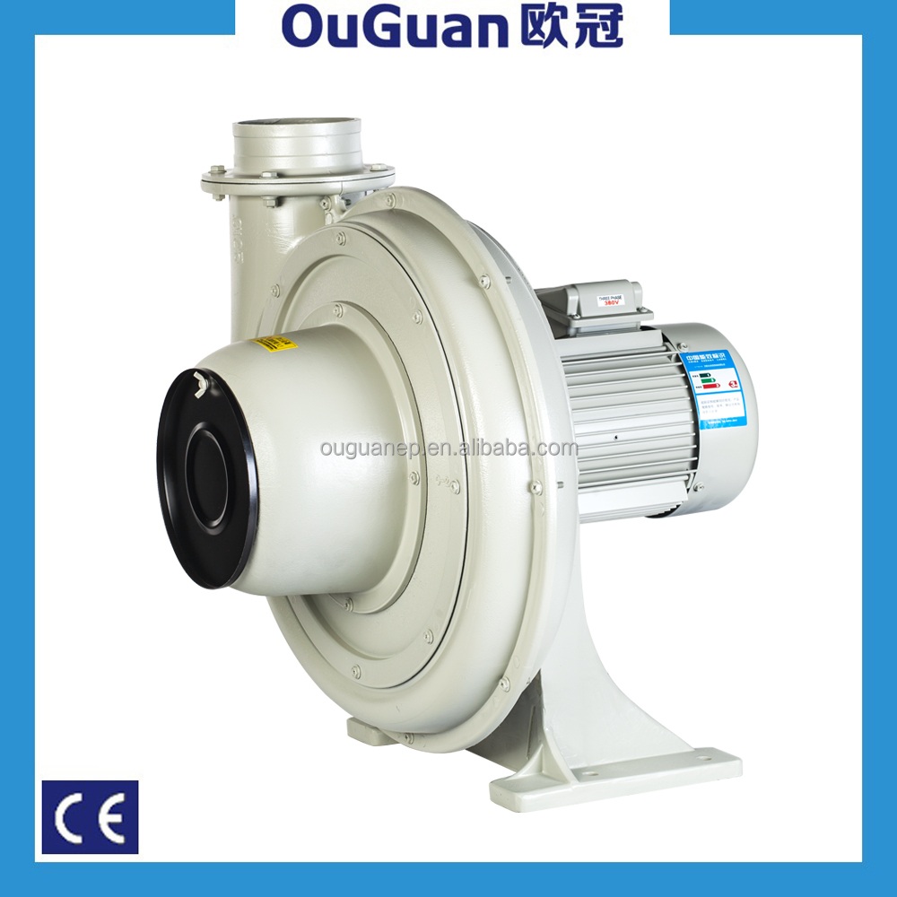 1.5KW centrifugal fans performance curve