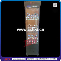 TSD-W175 china supplier glass display cabinet,watches showcase display,custom corner glass display cabinet