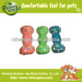 bone shape pet latex toy,pet squeaky ball