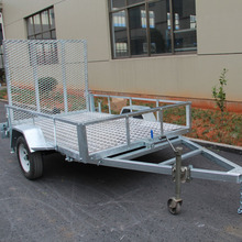 Heavy Duty Hot Dipped Galvanized ATV Dump Trailer