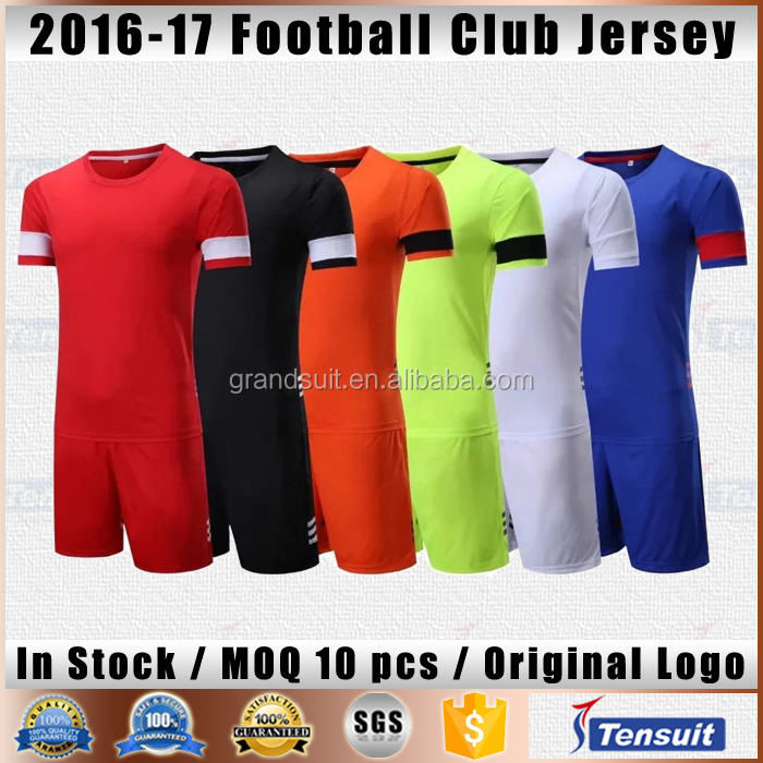 Wholesale soccer jersey youth club low price thailand soccer jersey customize for any football team jersey