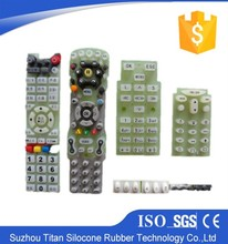 OEM factory custom molded silicone rubber e72 keypad