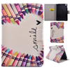 Hot sale folio style leather tablet cover case for for ipad mini 4