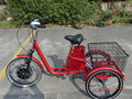 36V 12AH 350W electric tricycle adults