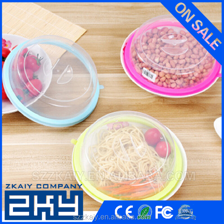 Silicone Cooking Food Storage Suction Lid Microwave Food Cover Frying Pan Lids Bowl Cover Silicone Pot Lid Cover