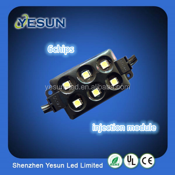 6 chips 5050 led injection module, led module injection.
