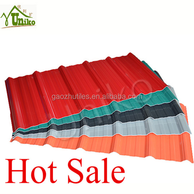 3 layer upvc roofing shingles price of corrugated pvc roof sheet asa pvc roof tile cover 1130mm plastic building material