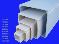 Self Adhesive PVC plastic trunking sizes for cable system