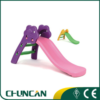 CC-4306 Cheap Small Chormatic Children Inflatable Plastic Indoor Slide