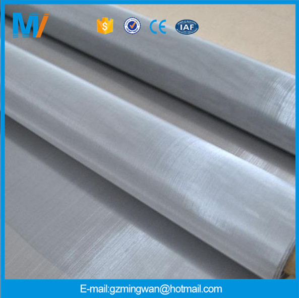 High quality 25 micron high temperature 316L stainless steel woven filter wire mesh